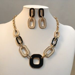 NWT Necklace and Earring Set